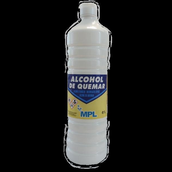 Alcohol de quemar 1l mpl - Alcohol de limpieza ...